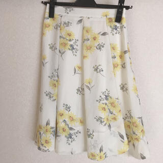 Noela - Noela オリジナルマーガレット柄フレアスカート S