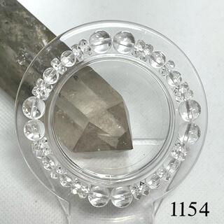 パワーストーン⭐️水晶 ブレスレット 内径約15cm
