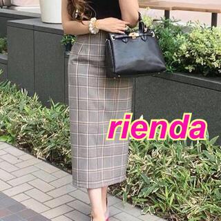 rienda - 【新品】rienda★リバーシブル★チェック★ブラック★リゼクシー*エイミー