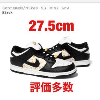 Supreme - Supreme Nike SB Dunk Low 黒 27.5cm