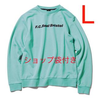 F.C.R.B. - 【L】FCRB AUTHENTIC LOGO CREWNECK SWEAT