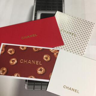シャネル(CHANEL)のCHANEL メッセージカード 2枚set(カード/レター/ラッピング)
