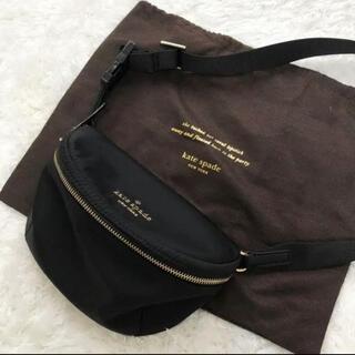 kate spade new york - 極美品♡ケイトスペード ウエストポーチ ショルダー ナイロン 19ss 黒