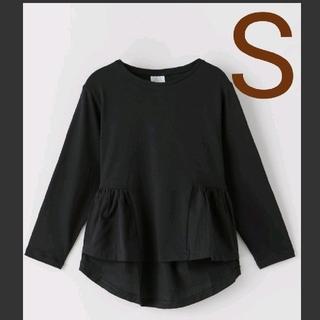 ZARA - 新品 ZARA kids コントラストTシャツ フリル