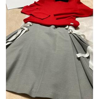 FOXEY - フォクシーアデアムグレー可愛い系skirt