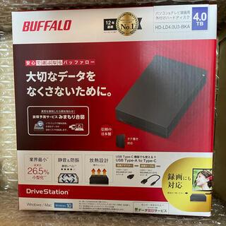 Buffalo -  【新品未開封】HD-LD4.0U3-BKA バッファロー 外付けHDD