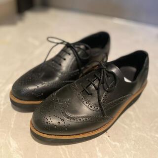 ランバンオンブルー(LANVIN en Bleu)のランバンオンブルーのレースアップローファ♡(ローファー/革靴)