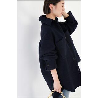 DEUXIEME CLASSE - ドゥーズィエムクラス/TWEED シャツジャケット