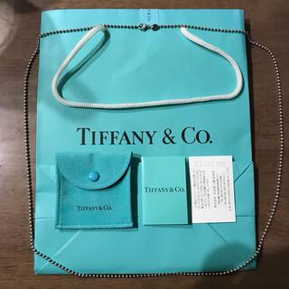 Tiffany & Co. - ★シルバー925★ティファニー ボールチェーンネックレス