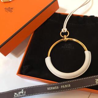 Hermes - (新品未使用)HERMES ネックレス ループグラン/ナタ ゴールド金具