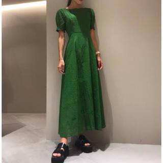 FRAY I.D - 【FRAY I.D】 新品未使用 アイレット刺繍ドレス