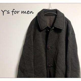 Yohji Yamamoto - 古着 Y's for men オーバーサイズ コート ジャケット ヨウジヤマモト