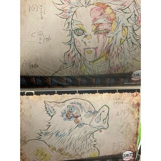 鬼滅の刃 ufotable cafe ランチョンマット煉獄 伊之助 2枚(キャラクターグッズ)