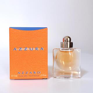 アザロ(AZZARO)の香水 AZZARO  AZZURA アザロ アズーラ オードトワレ 5ml(香水(女性用))
