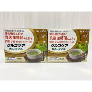 タイショウセイヤク(大正製薬)の大正製薬 グルコケア 粉末スティック 緑茶 30袋×2箱セット(健康茶)