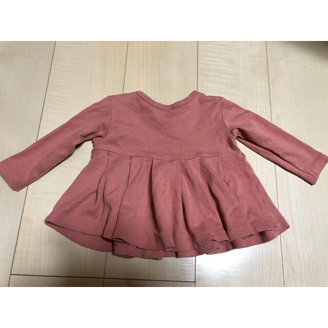 petit main(プティマイン)のプティマイン     トップス  最終 キッズ/ベビー/マタニティのベビー服(~85cm)(シャツ/カットソー)の商品写真