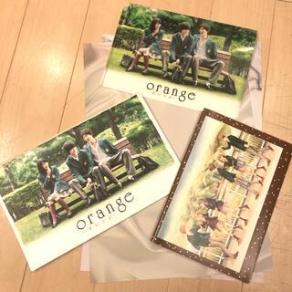 映画 orange グッズ カレンダー ブックカバー ファイル(クリアファイル)