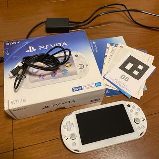 PlayStation Vita - PS VITA PCH-2000 ZA12 ホワイト White