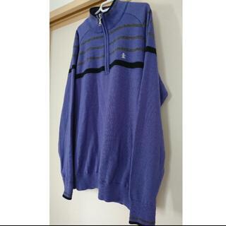 マンシングウェア(Munsingwear)のKEYAMunsingwear マンシングウェア ジップアップセーター(ニット/セーター)