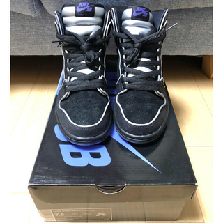 NIKE - DUNK HIGH SB PURPLE BOX