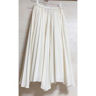 ダブルスタンダードクロージング(DOUBLE STANDARD CLOTHING)のDOUBLE STANDARD CLOTHINGプリーツフレアパンツ(ホワイト)(その他)