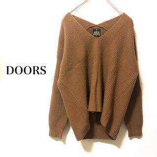 DOORS / URBAN RESEARCH - アーバンリサーチドアーズ⭐︎Vネックニット