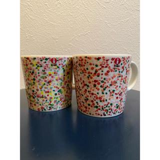 イッタラ(iittala)のiittala イッタラ ヘレ マグカップ ピンク テラコッタ 2個セット(グラス/カップ)