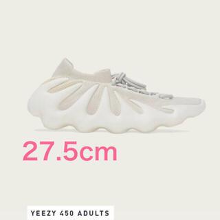 "adidas -  ADIDAS YEEZY 450 ""CLOUD WHITE"" 27.5cm"