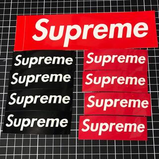 Supreme - supreme シュプリーム ボックスロゴ ステッカー セット