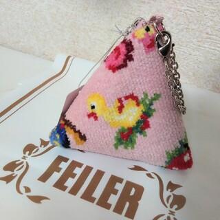 FEILER - 【新品】フェイラー ハイジ フレンズ フォレスト ピンク テトラポーチ
