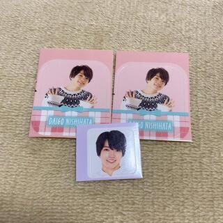 ジャニーズ(Johnny's)のMyojo duet 2021年 3月号 4月号 シール 西畑大吾 厚紙(アイドルグッズ)