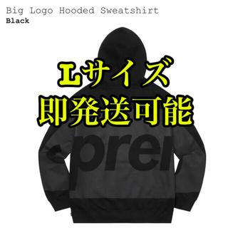 Supreme - Supreme Big Logo Hooded Sweatshirt 黒 L