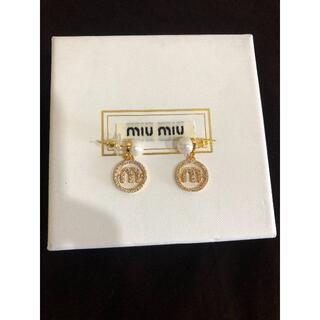 miumiu - MIUMIU  ピアス