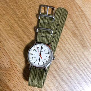 タイメックス(TIMEX)のTIMEX 腕時計/ウィークエンダー セントラルパーク グリーン T2N651(腕時計(アナログ))