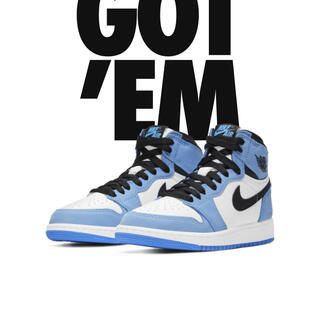 NIKE - NIKE AIR JORDAN 1 HIGH OG UNIVERSITYBLUE