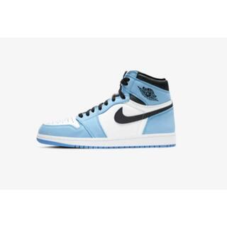 NIKE - AIR JORDAN 1 HIGH UNIVERSITY BLUE 27cm