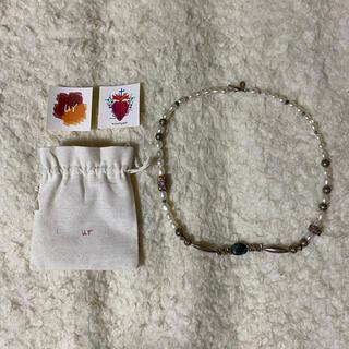 フリークスストア(FREAK'S STORE)のur jewelry DUNIA wote turquoiseターコイズ54cm(ネックレス)