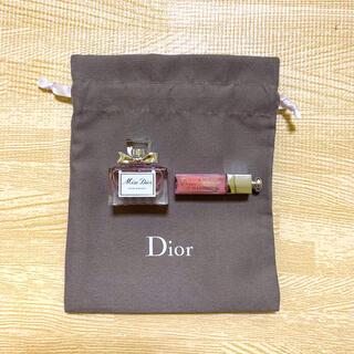 Dior - ディオール 巾着袋 マキシマイザー ミスディオール