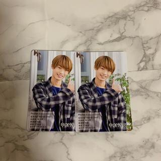ジャニーズジュニア(ジャニーズJr.)の中村浩大 カレンダーカード(アイドルグッズ)