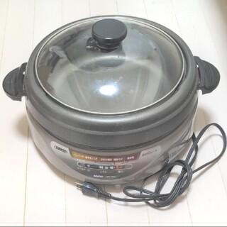 サンヨー(SANYO)のSANYO 鍋 クックプレート HPS-CTX2(H)(ホットプレート)