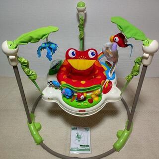 Fisher-Price - 【送料込】フィッシャープライス 綺麗 レインフォレストジャンパルー 乗用玩具