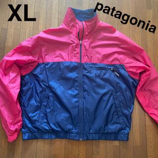 patagonia - パタゴニア XL  ナイロンジャケット クレイジーパターン ピンク ネイビー