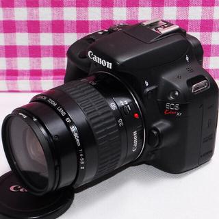 Canon - ☆思い出を残そう☆Canon Kiss x7 一眼レフカメラ