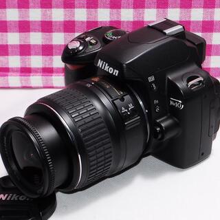 ニコン(Nikon)の❤️ドキドキ・ワクワクのNikon一眼レフ❤️Nikon D40 レンズキット(デジタル一眼)