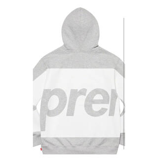 Supreme - supreme Big Logo Hooded Sweatshirt