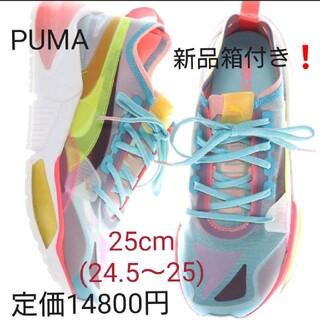 PUMA - PUMA☆新品箱付‼️14800円☆オプティックシアー❕人気のブルー 25cm