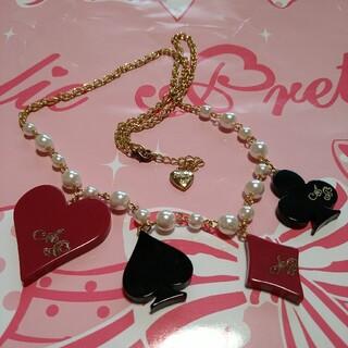 アンジェリックプリティー(Angelic Pretty)のトランプのネックレス(ネックレス)