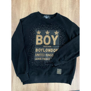 ボーイロンドン(Boy London)のBOY LONDON メンズ ビジュー スウェット トレーナー(スウェット)