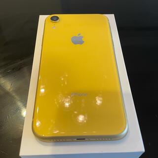 iPhone - iPhone XR Yellow 64GB SIMロック解除済