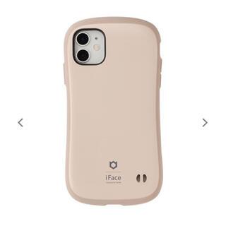 【新品未使用】iPhone12/12Pro用 iFace カフェラテ ベージュ